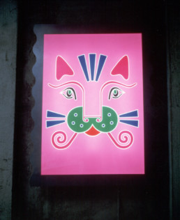 ANNA GILI LIGHT PAINTINGS, CAT