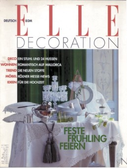 Press Anna Gili Elle Decoration 1992