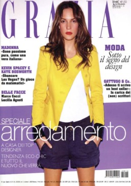 Press Anna Gili - Grazia 2008