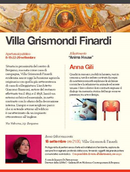 Installations Anna Gili, Anima House