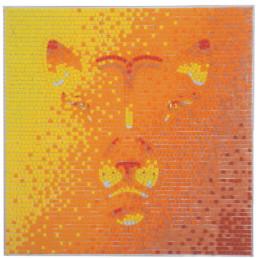 Anna Gili - chinese zoodiac mosaic