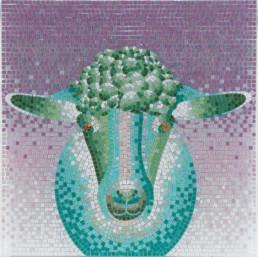 Anna Gili Chinese mosaic zoodiac
