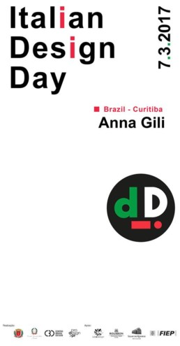 Anna Gili Press italian design day brasile 2017