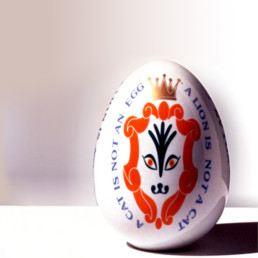 Anna Gili Decor Design LUCKY EGG porcelain egg, Arzsberg
