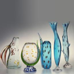 Glass Vases - Sea Vases