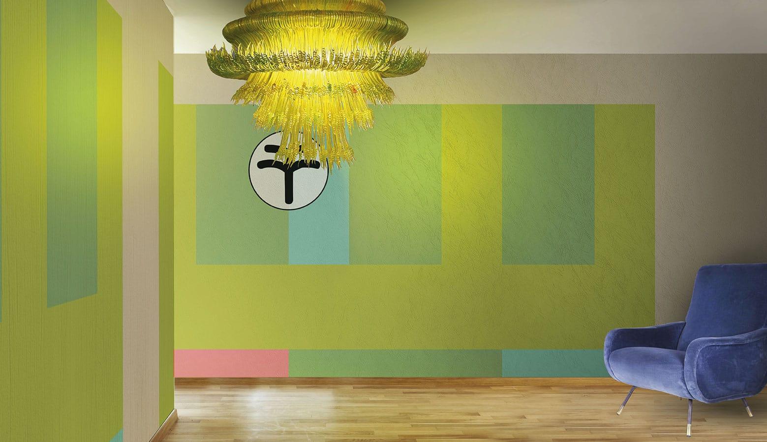 Vinyl wallpaper or fiberglass TIGER