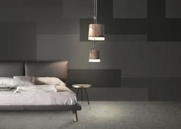 Vinyl wallpaper or fiberglass VIA SANNIO