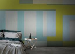 Vinyl wallpaper or fiberglass WINDOW