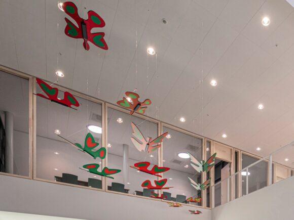 Anna Gili Installation Butterfly for Nemho-Trespa